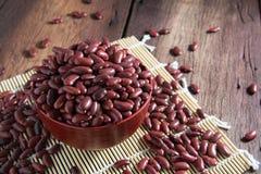 Rote Bohnen in einem Cup Lizenzfreies Stockbild