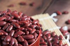 Rote Bohnen in einem Cup Lizenzfreie Stockfotografie