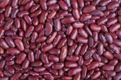 Rote Bohnen Hintergrund, Hintergrundmuster Stockfotografie