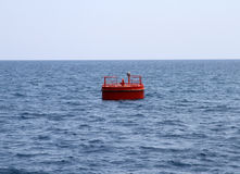 Rote Boje lizenzfreies stockfoto