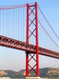 Rote Brücke Lizenzfreie Stockbilder