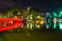 Rote Brücke Stockbilder