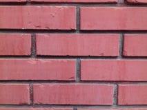 Rote briks - Hintergrund Lizenzfreies Stockbild
