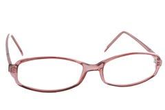 Rote Brillen lizenzfreie stockbilder