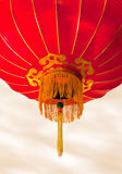 Rote chinesische Laterne Lizenzfreies Stockfoto