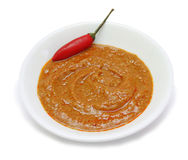 Rote Curry-Paste Stockfotos