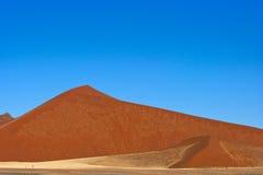 Rote Dünen Stockbild