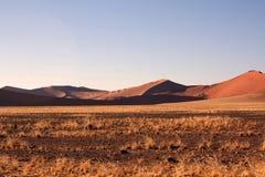 Rote Dünen von sossusvlei Lizenzfreie Stockfotos