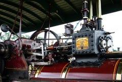 Rote Dampf-Maschine stockbild
