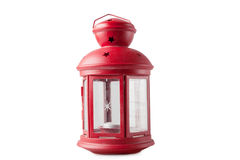 Rote dekorative Laterne lizenzfreies stockbild