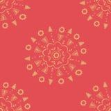 Rote dekorative Tapete Lizenzfreie Stockbilder