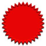 Rote Dichtung stock abbildung