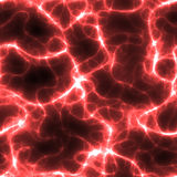Rote Elektrizität Lizenzfreie Stockbilder