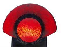 Rote Endleuchte Lizenzfreie Stockfotografie