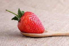 Rote Erdbeere Stockfoto