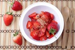 Rote Erdbeere Lizenzfreie Stockfotografie
