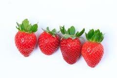 Rote Erdbeere Lizenzfreie Stockfotos