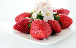 Rote Erdbeeren Stockfotografie