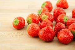 Rote Erdbeeren Stockfoto
