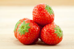 Rote Erdbeeren Lizenzfreie Stockbilder