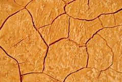 Rote Erde Stockbild
