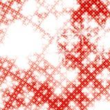 Rote Fantasie Stockfoto