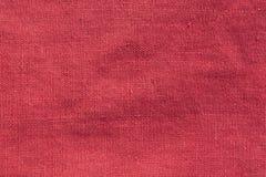Rote Farbbaumwollstoffbeschaffenheit lizenzfreies stockfoto