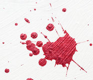 farbe splatter auf wei em hintergrund lizenzfreie stockbilder bild 18636189. Black Bedroom Furniture Sets. Home Design Ideas