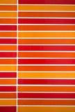 Rote Farbmosaikfliesenhintergrund Lizenzfreie Stockfotografie