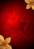 Rote Feiertagskugel Lizenzfreies Stockfoto