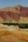 Rote Felsen stockbild