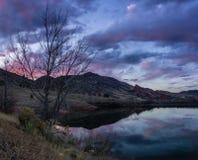 Rote Felsen, Colorado Stockfotos