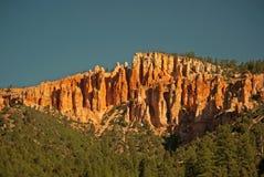 Rote Felsen-Klippen Stockbild