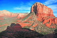 Rote Felsen-Landschaft in Sedona, Arizona, USA Stockbild
