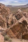 Rote Felsen-Schlucht Lizenzfreie Stockfotos