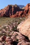 Rote Felsen-Schlucht Lizenzfreie Stockbilder