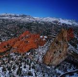 Rote Felsen-Schlucht Stockbilder