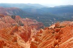 Rote Felsen (Serien) Stockbild