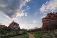 Rote Felsen-Spur Lizenzfreies Stockfoto