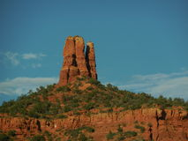 Rote Felsen-Strecke Arizonas Sedona Stockbild