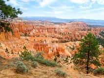 Rote Felsen-Unglücksboten in Bryce Utah lizenzfreies stockfoto
