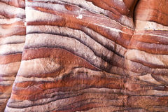 Rote Felsen von PETRA stockfotografie