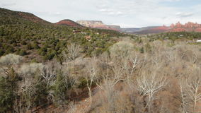 Rote Felsen von Sedona stock video