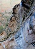 Rote Felsenlandschaft von Zion National Park, Utah Stockfotos