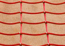 Rote Filetarbeit Lizenzfreies Stockfoto