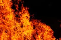 Rote Flammen stockbild