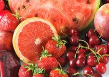 Rote Früchte Stockfotos