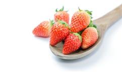 Rote frische strawberies Stockbilder
