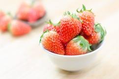 Rote frische strawberies Lizenzfreie Stockbilder