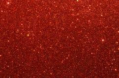 Rote Funkelnpapierbeschaffenheit Stockbilder